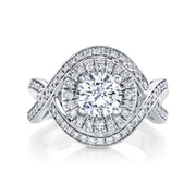 Platinum | Essence engagement ring