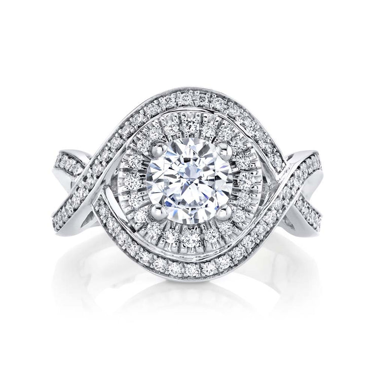 White Gold | Essence engagement ring
