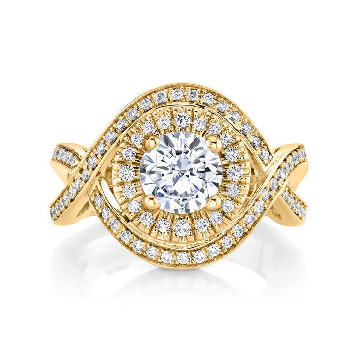 Yellow Gold | Essence engagement ring