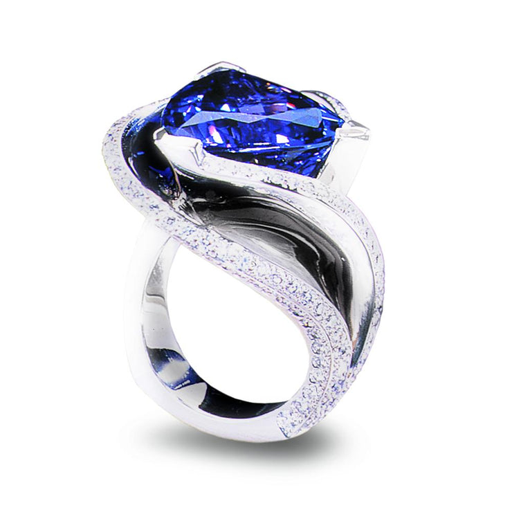 exclusive tanzanite ring