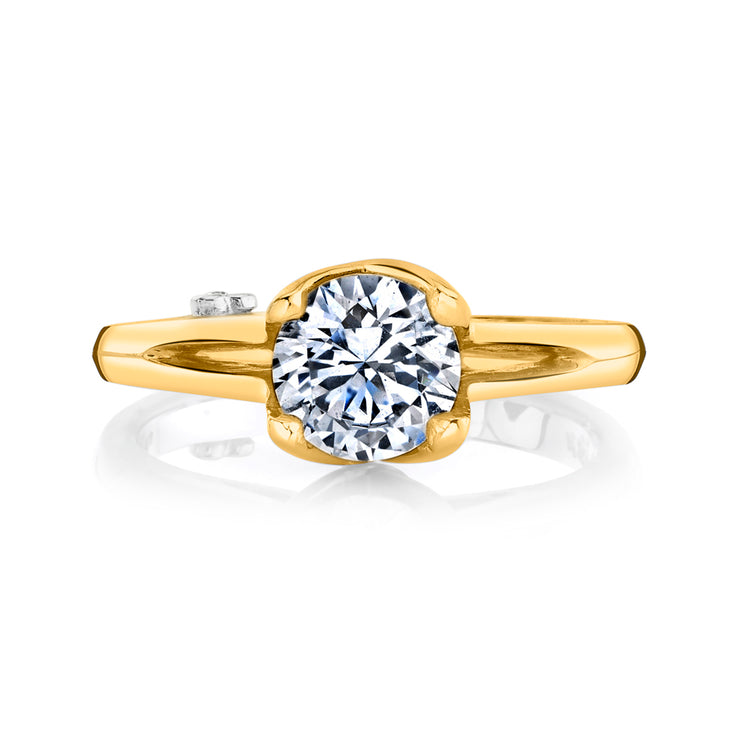 Yellow Gold | Exquisite-engagement-ring