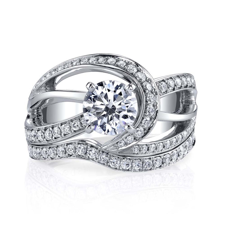 White Gold | Faithful-engagement-ring
