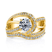Yellow Gold | Faithful-engagement-ring
