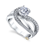 Platinum | Faithful-engagement-ring