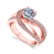 Rose Gold | Faithful-engagement-ring