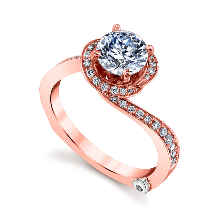 Rose Gold | Fascination-engagement-ring