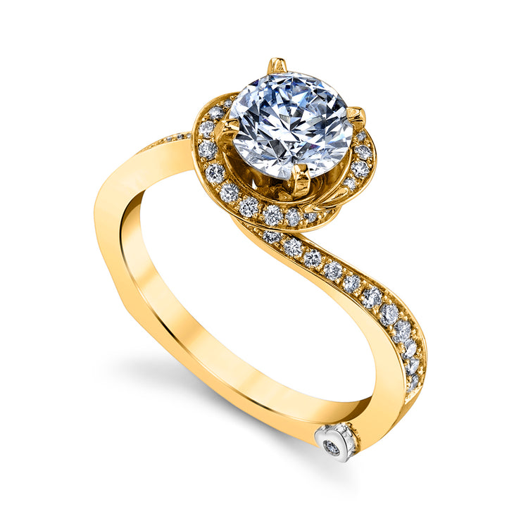 Yellow Gold | Fascination-engagement-ring