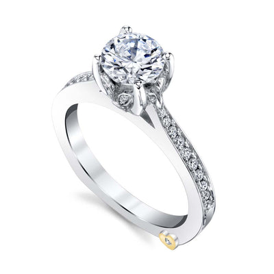 White Gold | Finesse-engagement-ring