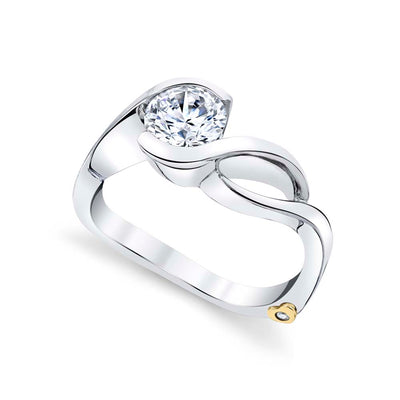 White Gold | Fire-engagement-ring