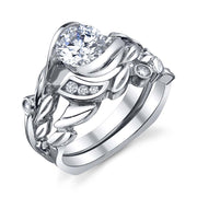 White Gold | Fusion-engagement-ring