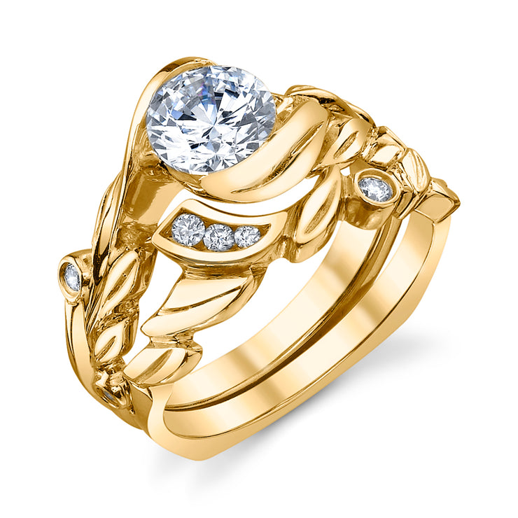 Yellow Gold | Fusion-engagement-ring