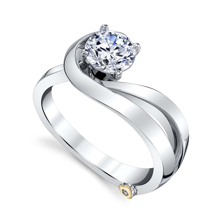 White Gold | Glow-engagement-ring