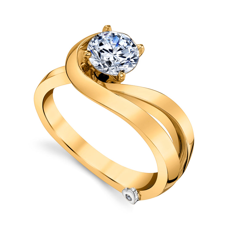 Yellow Gold | Glow-engagement-ring