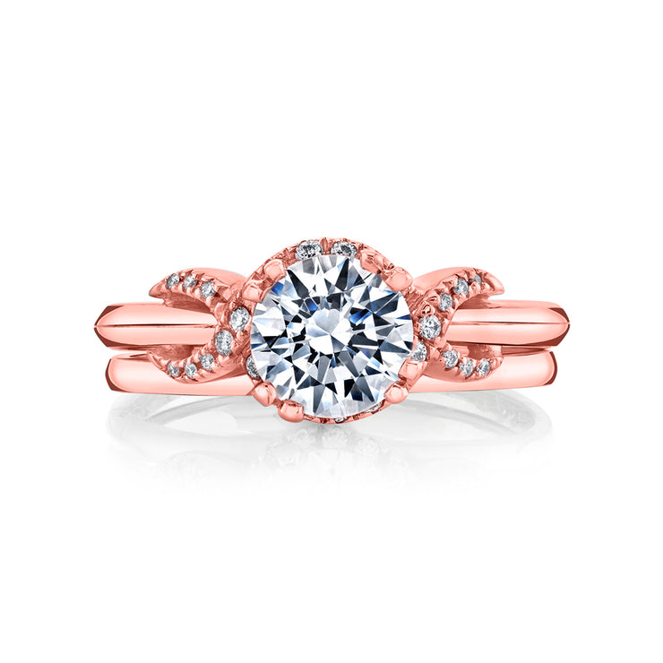 Rose Gold | Infinity-engagement-ring