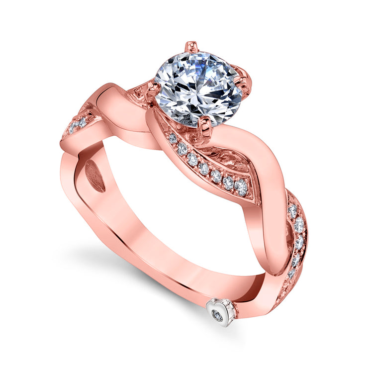 Rose Gold | Intrigue-engagement-ring