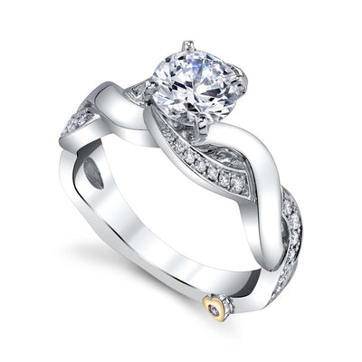 White Gold | Intrigue-engagement-ring