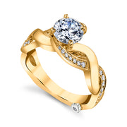 Yellow Gold | Intrigue-engagement-ring