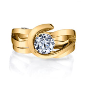 Yellow Gold | Juliet-engagement-ring