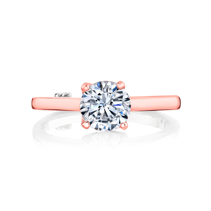 Rose Gold | Kiss-engagement-ring