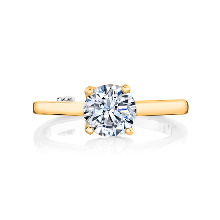 Yellow Gold | Kiss-engagement-ring