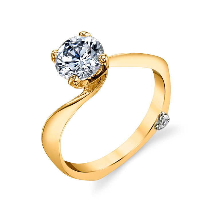 Yellow Gold | Luna-engagement-ring
