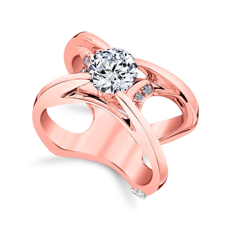 Rose Gold | Moonglow-engagement-ring