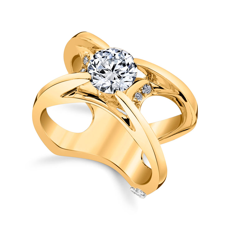 Yellow Gold | Moonglow-engagement-ring
