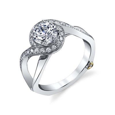 White Gold | Mystify-engagement-ring
