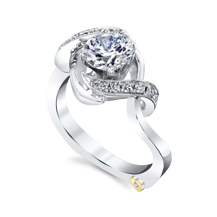 White Gold | Oasis-engagement-ring