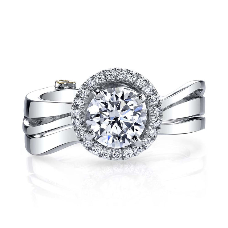 White Gold | Passion-engagement-ring