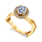 Yellow Gold | Passion-engagement-ring