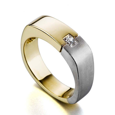 Precise-mens-wedding-band