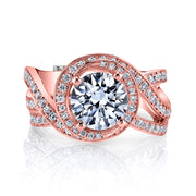 Rose Gold | Pulse-engagement-ring
