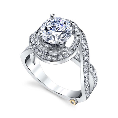 White Gold | Pulse-engagement-ring