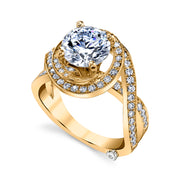 Yellow Gold | Pulse-engagement-ring