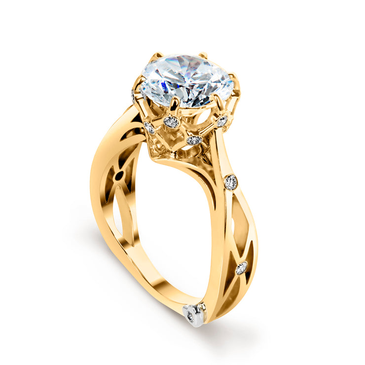 Yellow Gold | Sacred-engagement-ring