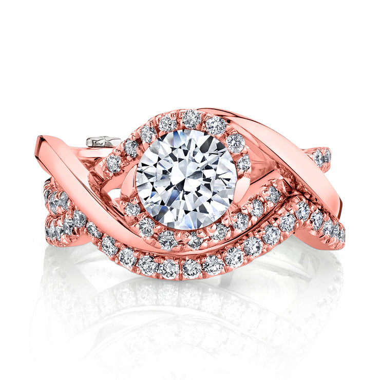 Rose Gold | Scintillate-engagement-ring
