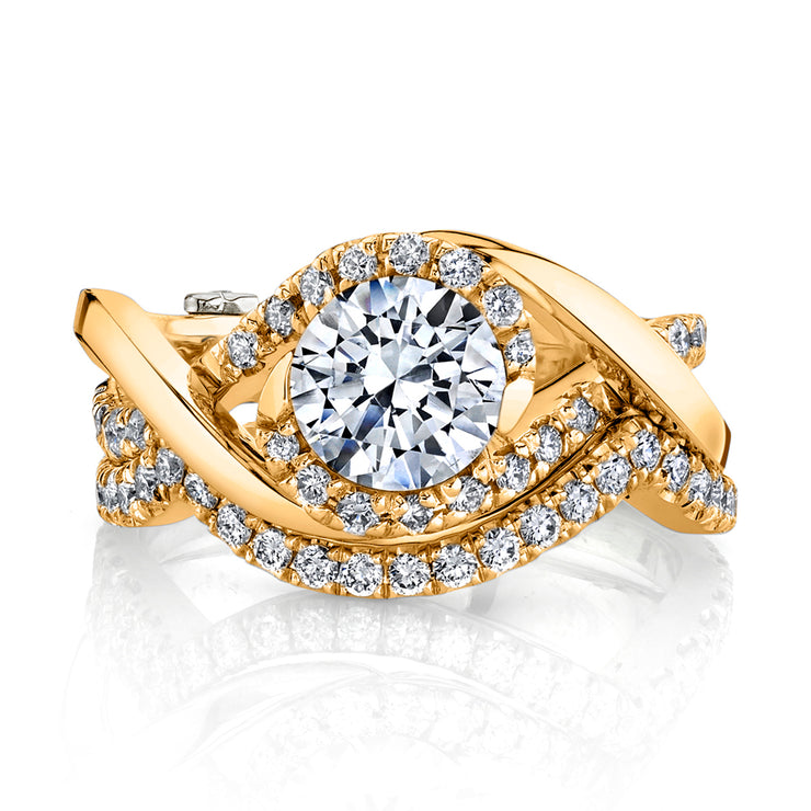 Yellow Gold | Scintillate-engagement-ring