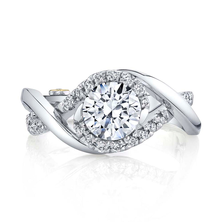 White Gold | Scintillate-engagement-ring