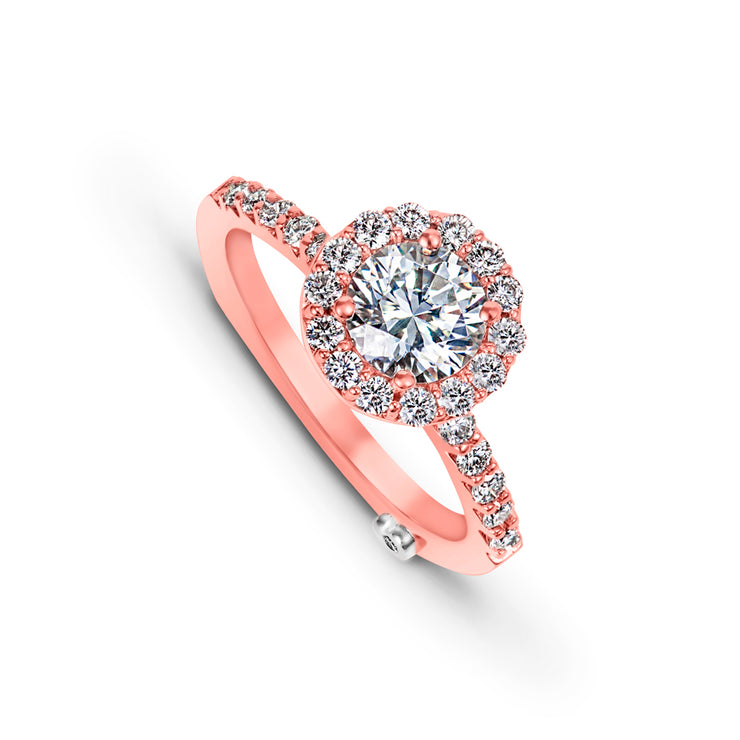 Rose Gold | Sentiment-engagement-ring