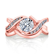Rose Gold | Soul mate-engagement-ring