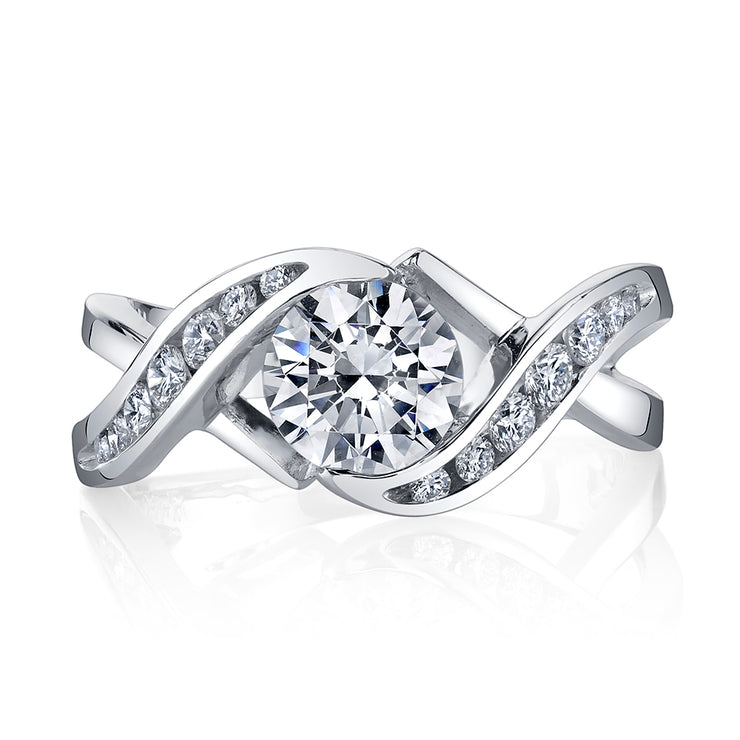 Platinum | Soul mate-engagement-ring