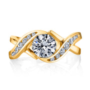 Yellow Gold | Soul mate-engagement-ring