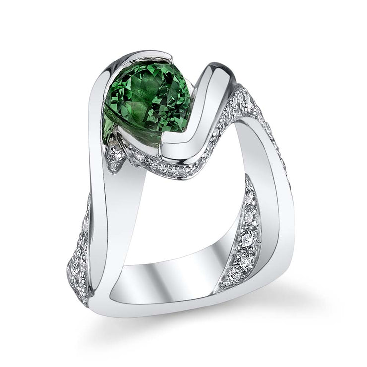 superb tsavorite ring