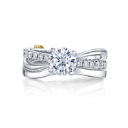 White Gold | Surge-engagement-ring