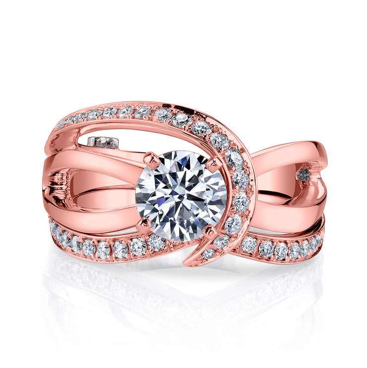 Rose Gold | Tranquil-engagement-ring