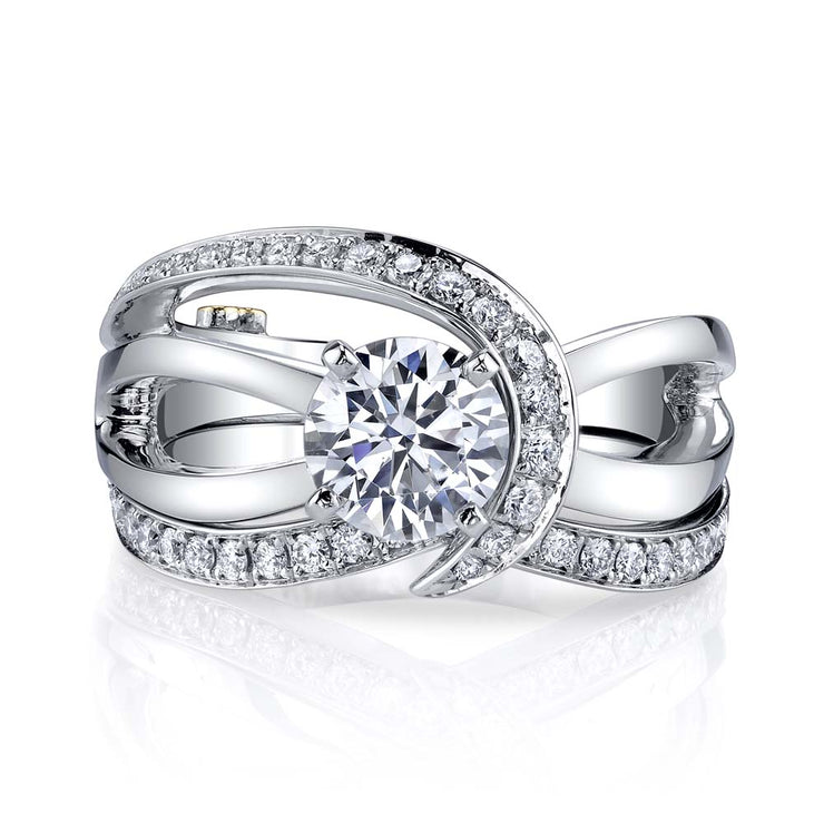 White Gold | Tranquil-engagement-ring
