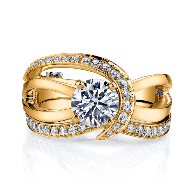 Yellow Gold | Tranquil-engagement-ring