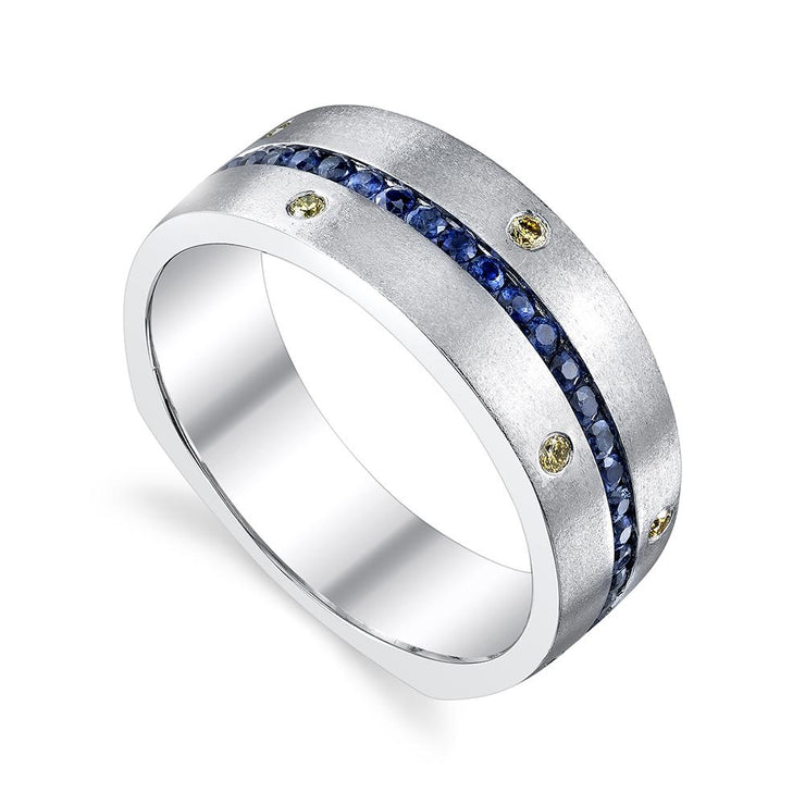 Twilight sapphire band-mens-wedding-band