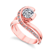 Rose Gold | Vision-engagement-ring